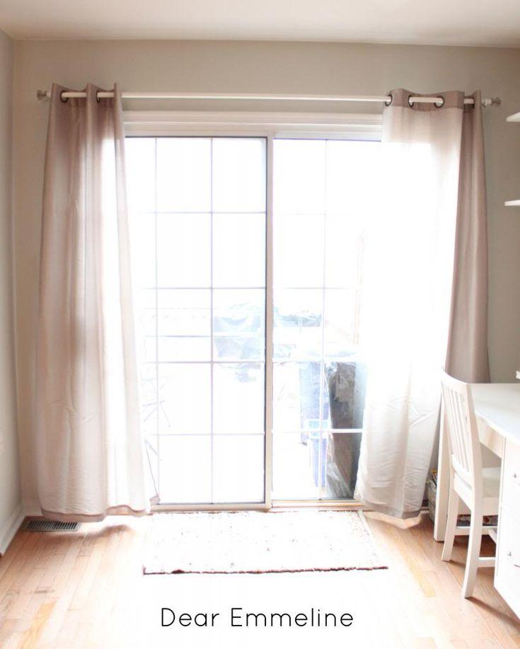 Dear Emmeline: Kitchen Redo: Part Two {DIY Curtain Rod}