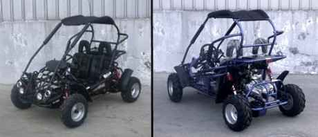 New 2014 Power Kart 110cc Semi-Automatic 3 Speed ON SALE on SaferWholesale ATVs For Sale in Illinois. Check out our new arrival TrailMaster 110XRX mid-size go kart! It has all the features that you are looking for to ensure years of fun. It is designed to look good and developed with high quality material. The trail Master 200cc Go kart features a semi auto 3 speed transmission, and electric start. It is easy to steer and ride thanks to the convenient rack and pinion steering. It also comes…