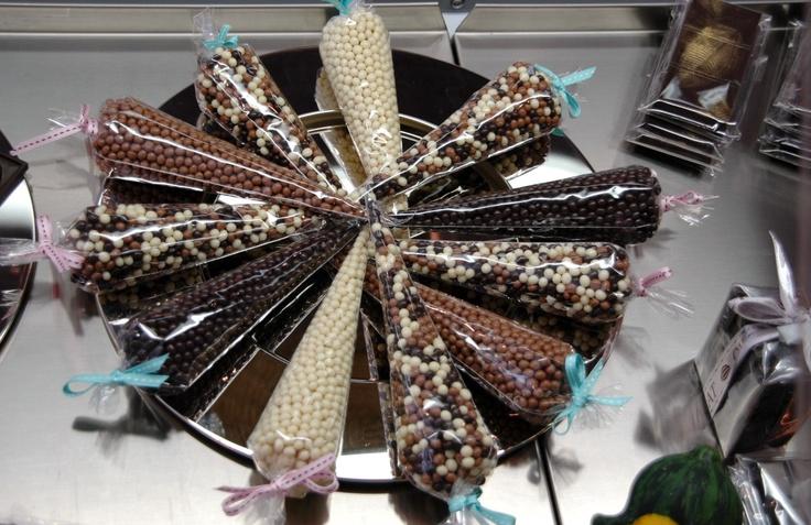 cône perles de chocolat 8$