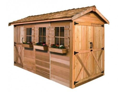 Cedarshed - Boathouse 12x8 Shed