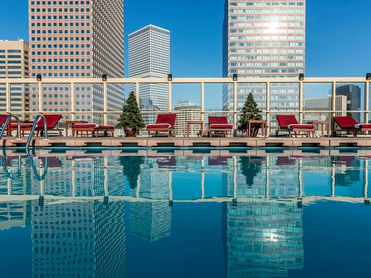 A room with a view is nice, but how about a pool with a view? These hotels have rooftop pools with stunning scenic views.