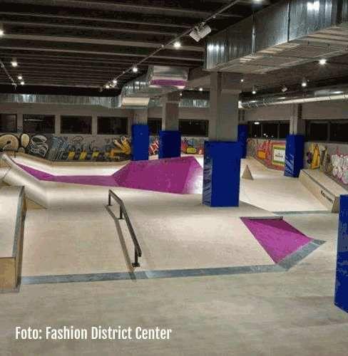skate park indoor - Outlet molfetta
