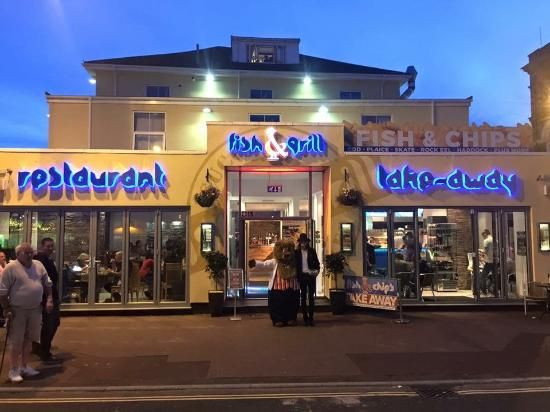 Fish & Grill, Great Yarmouth Picture: Heart of the seafront ( golden mile )…