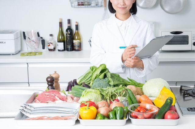 ポイントは野菜果物主菜食事バランスガイドで健康的にダイエット