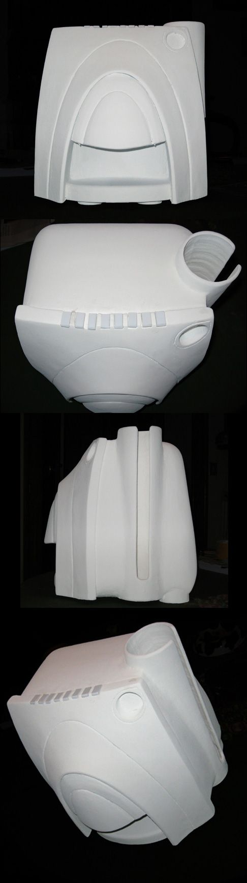 Zeno Pillan: modello in polistirolo di una macchina per il caffè in scala 1:1