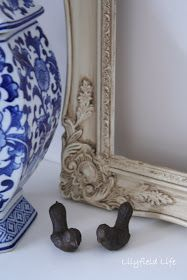 Lilyfield Life: How to Antique Glaze Furniture - when you can't find ready made glaze