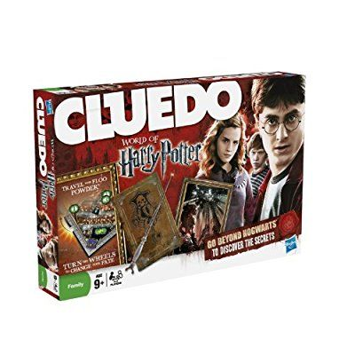 Hasbro Cluedo World of Harry Potter Game: Amazon.co.uk: Toys & Games