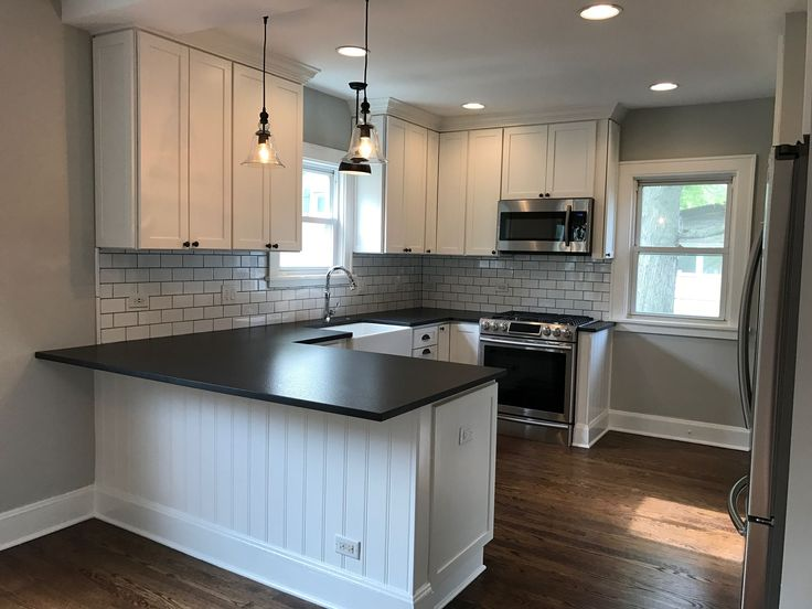 Best The Finished Flip White Shaker Kitchen Kitchen Remodel 640 x 480
