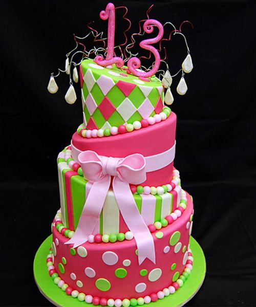cool 13th birthday cake ideas 13th Birthday Cakes for ...