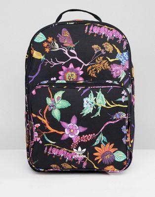 3792061af3 Image 1 of adidas Originals Floral Print Backpack