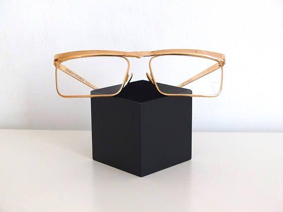 Plaqué or Monture Originale et rare lunettes eyeglasses