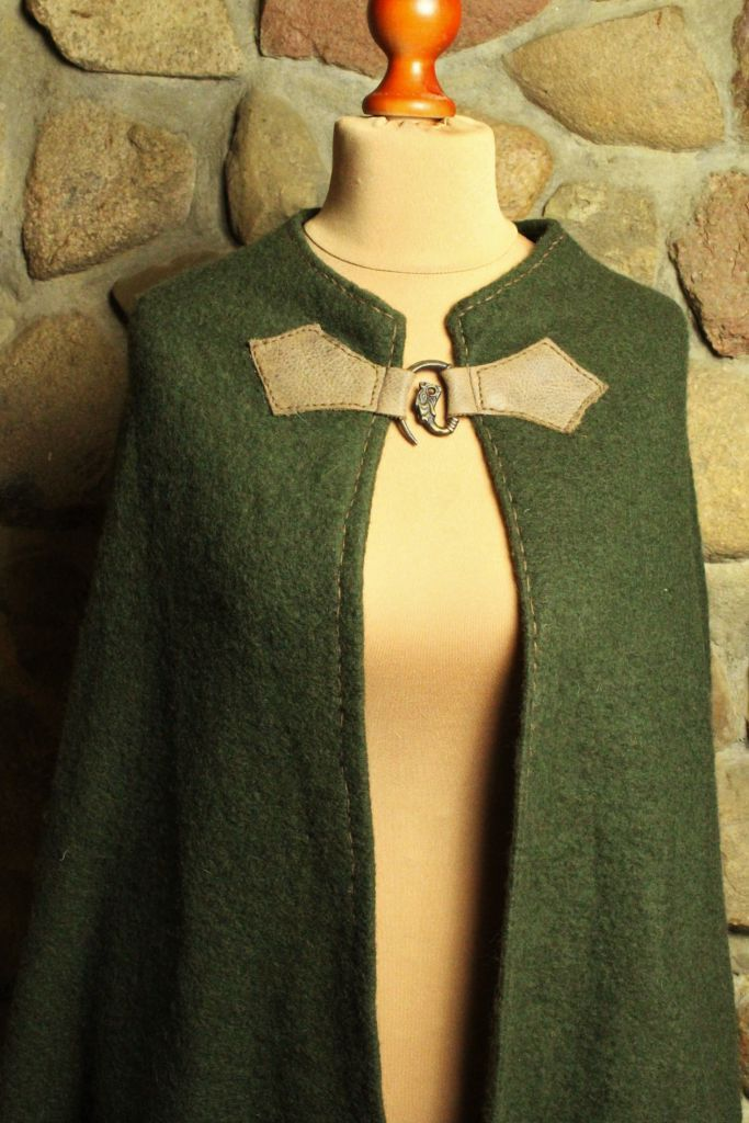 Mittelalter Umhang aus Wolle
