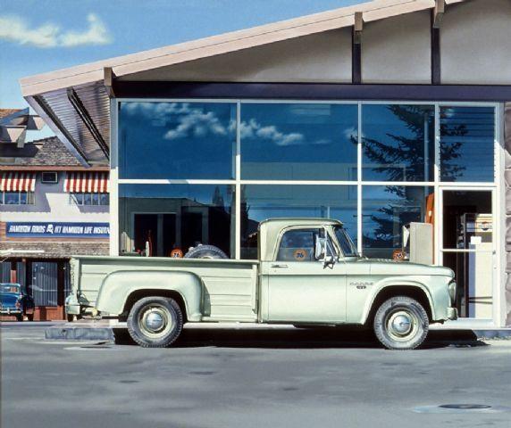 Golden Dodge - Ralph Goings