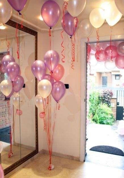 decoracin de comuniones en casa fotos de ideas decoracin con globos para la primera