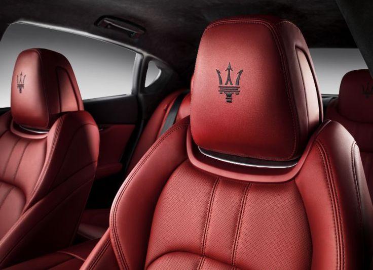 Fahrersitz neuer Maserati Quattroporte