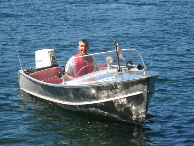 Duratech Sealine 15 foot runabout Runabout boat, Vintage