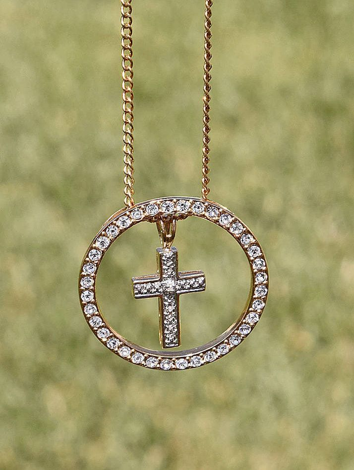 Infinity Cross Necklace - Vintage Cross - Cross Necklace - Elegant Faith Collection 38.99 by ReviveAmor on Etsy