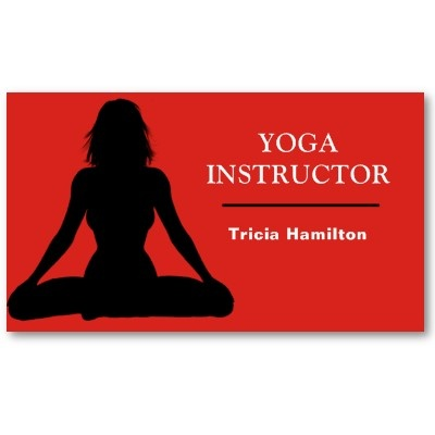 124 best designer business cards images on pinterest business fab eye catching business card design for yoga peeps reheart Image collections