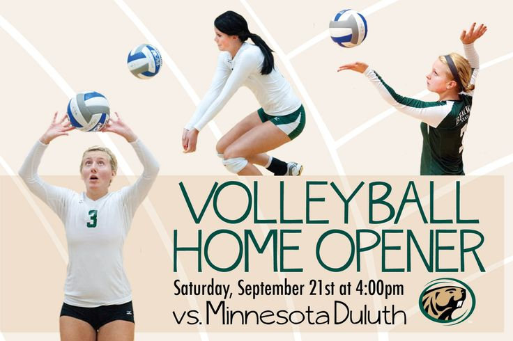 The BSU volleyball team hosts nationally-ranked Minnesota Duluth Sept. 21 in the team's 2013 home opener. The Beavers enter the match with a 4-4 record.