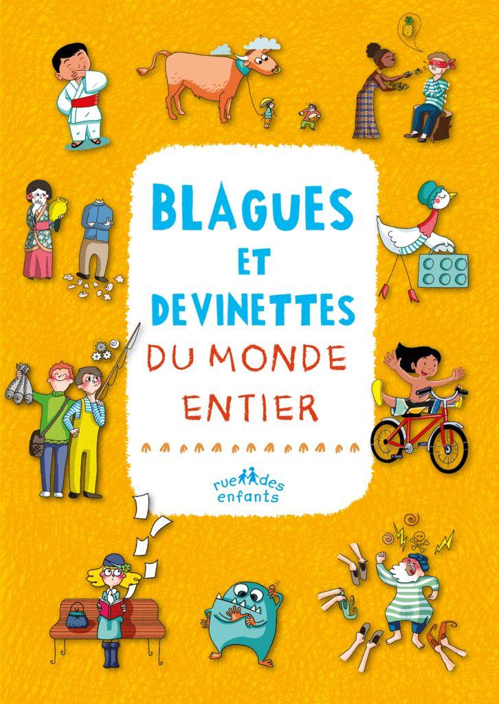 Blagues et devinettes du monde entier - 9782351812440 - Rue des Enfants - couverture