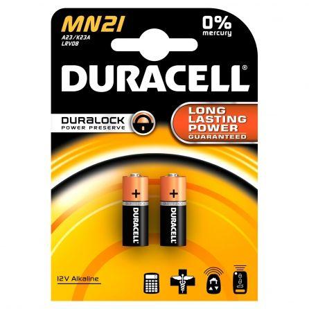 2 Piles DURACELL 12V A23/K23A/LRV08