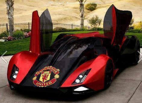 Manchester United Car I Want This Now Pinterest