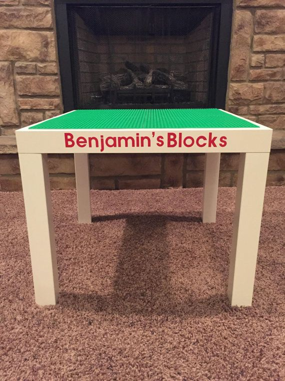 Make The Perfect Space For Your Child To Build And Create With This  Personalized LEGO® /DUPLO® Compatible Construction Table.