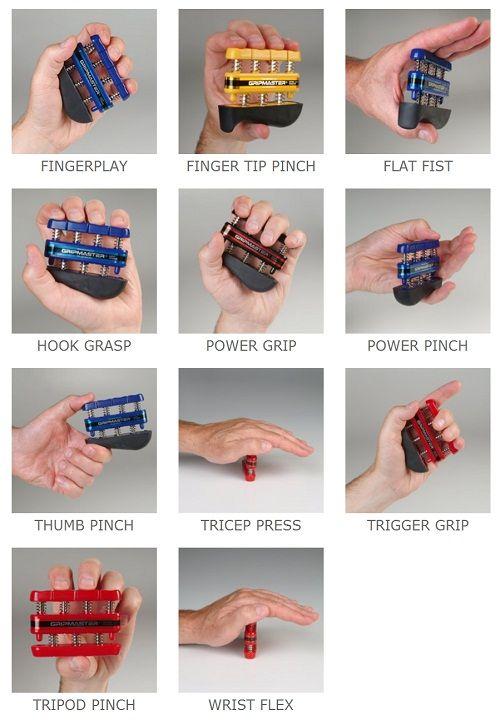 Power grip anatomy
