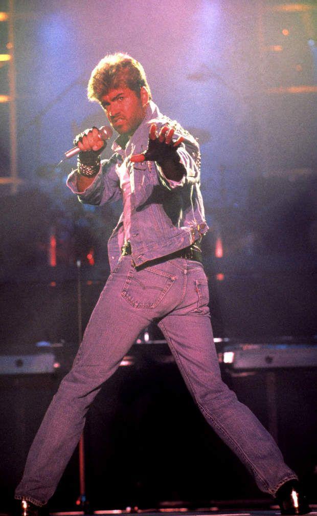 GEORGE MICHAELGEORGE MICHAEL EN AUSTRALIE LE 1ER JANVIER 1988