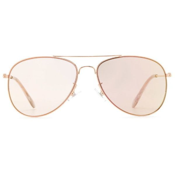 mirrored aviator sunglasses (3.46 CAD) ❤ liked on Polyvore featuring accessories, eyewear, sunglasses, aviator style sunglasses, mirrored aviator sunglasses, forever 21, mirrored sunglasses and mirror glasses