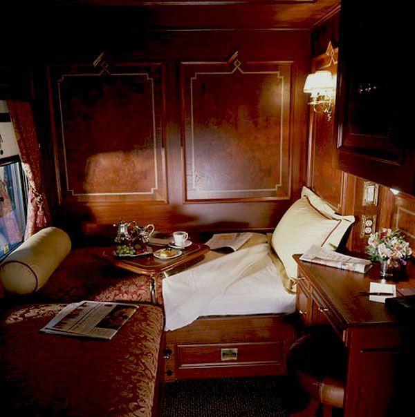 Traveling and sleeping on The Orient Express?  Oh yes!  One of my BIGGEST WISHES!