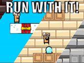 Run With It - http://www.jogosdokizi.com.br/jogos/run-with-it/ #2-Jogadores, #2Pg, #Coletando, #Diversão, #Ecape, #Executando, #Flash, #Jogo, #Livre, #Perseguindo, #Plataforma, #Sincronismo, #Sobreviver, #Torneio #Jogos-de-2-Jogadores