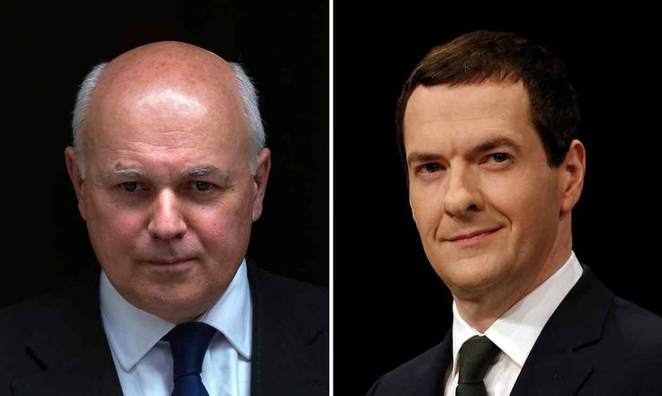 Iain Duncan Smith, who has resigned from the cabinet, citing cuts to disability benefits outlined in George Osborne's budget.