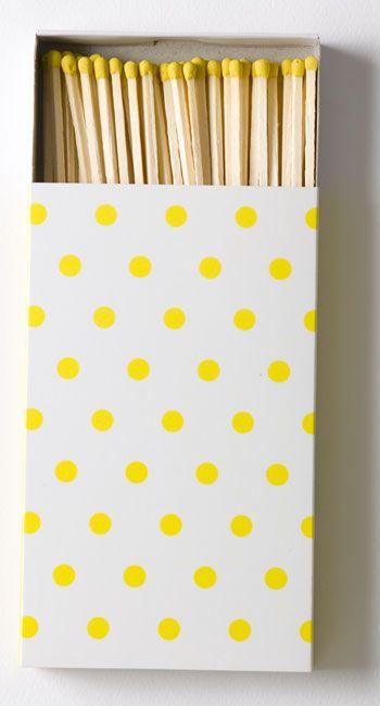 Yellow matches