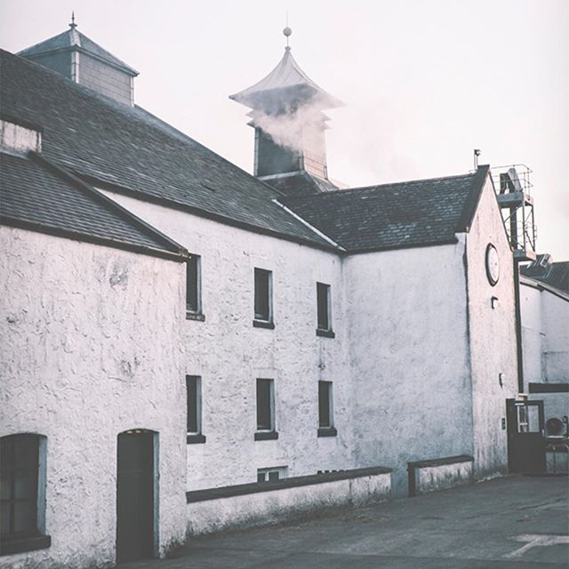"""""""Lang may your lum reek"""" is a Scottish proverb meaning: Long may your chimney smoke. Well ours has been smoking for over 200 years now. #Laphroaig"""