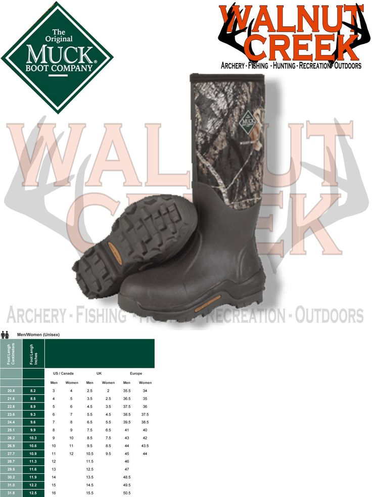 Hunting Footwear 153008: Muck Boot Woody Max Waterproof Insulated Camo Hunting Boot Unisex Men 12 -> BUY IT NOW ONLY: $149.95 on eBay!