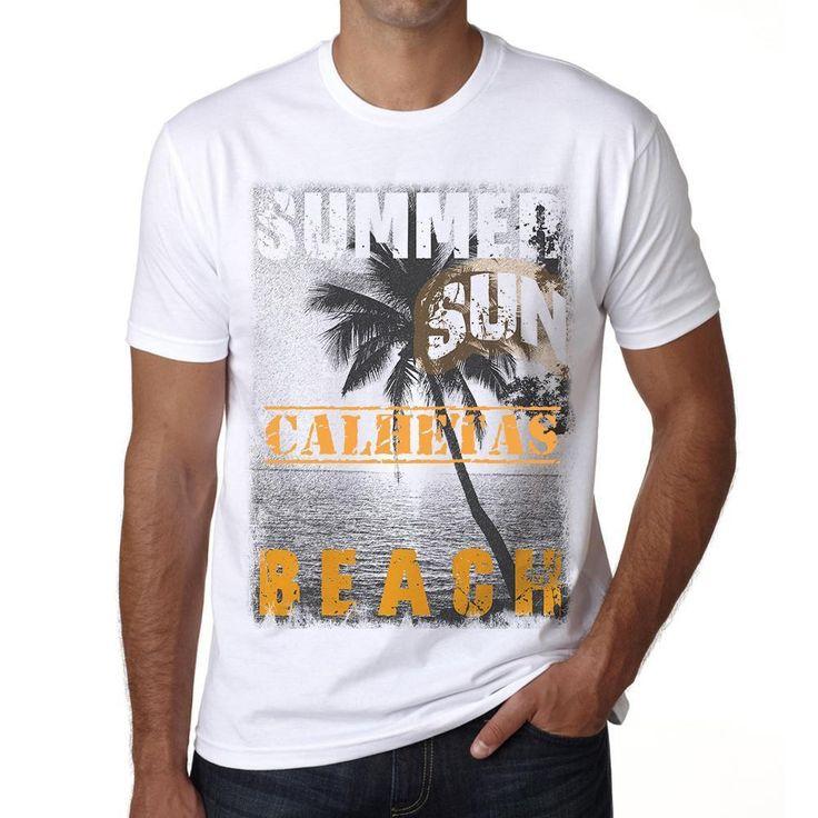Calhetas ,Men's Short Sleeve Rounded Neck T-shirt