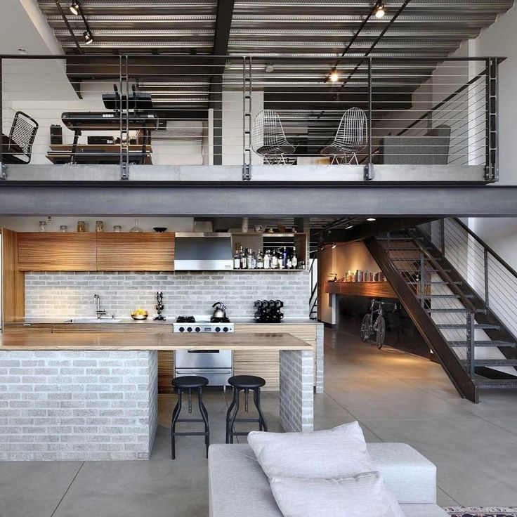 Spectacular loft! Who would like this for their crash pad?