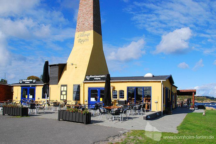 Allinge Røgeri - Räucherei am Hafen von Allinge, Insel Bornholm #allingeroegeri #räucherei #allinge #insel #bornholm