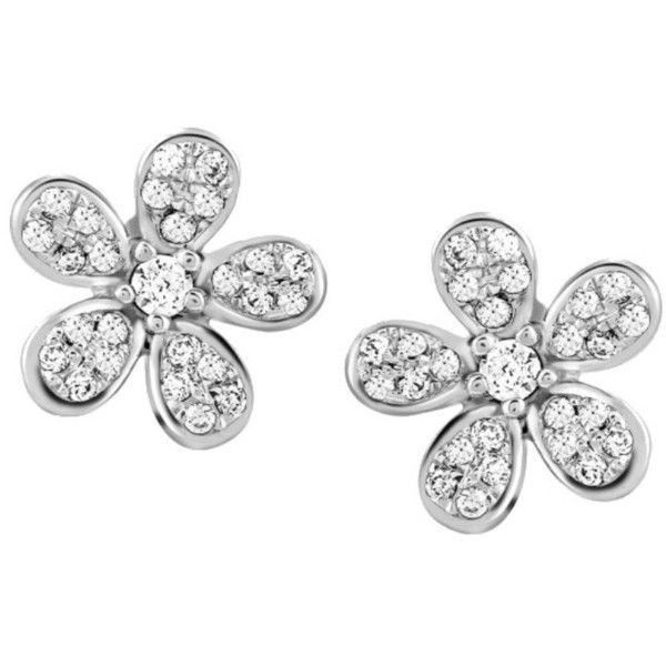 Cute flowery platinum earrings with diamonds jl pt e 158 ($999) ❤ liked on Polyvore featuring jewelry, earrings, diamond earring jewelry, diamond jewellery, diamond jewelry, platinum earrings and platinum diamond earrings