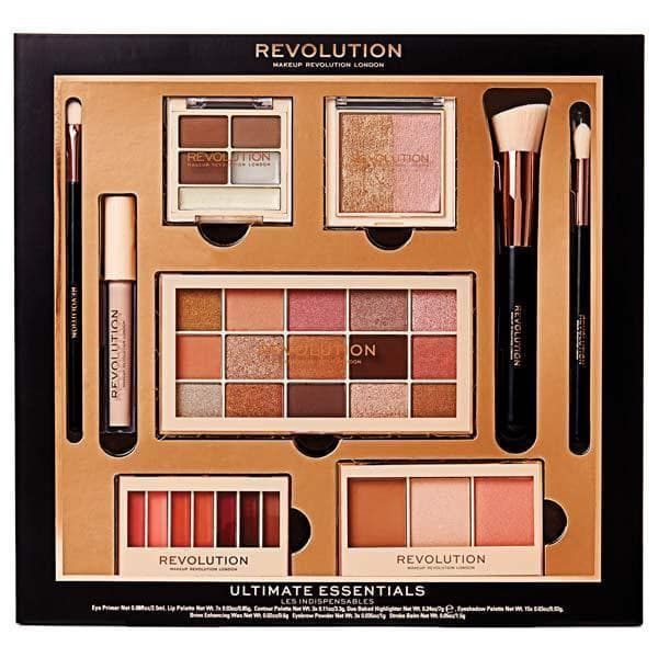 Revolution Ultimate Essentials Gift Set 25 The Perfect Gift For Those New To Makeup Or Seasoned Pros Who Wa Makeup Gift Sets Makeup Revolution Makeup Gift