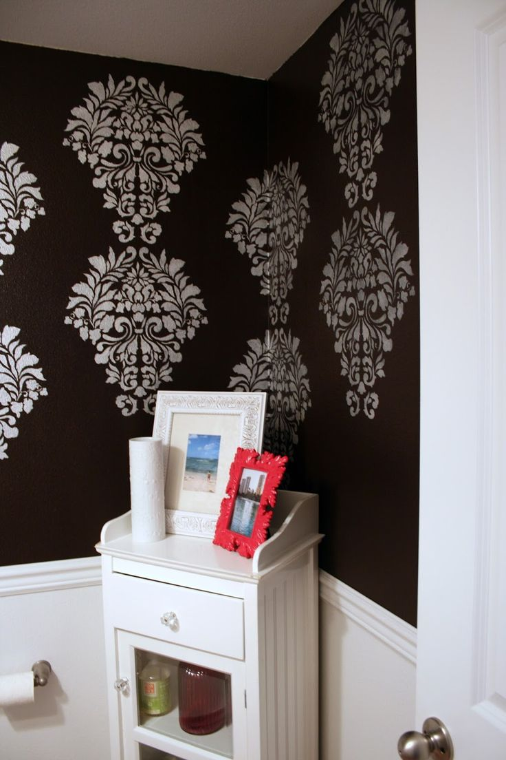 224 best damask wall stencils images on pinterest damask wall fabric damask stencil and pearl oyster stencil creme were used by suzannah of adventures in dressmaking amipublicfo Choice Image