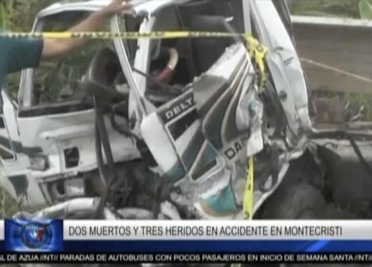 Dos Muertos Y Tres Heridos En Accidente En Boca Chica