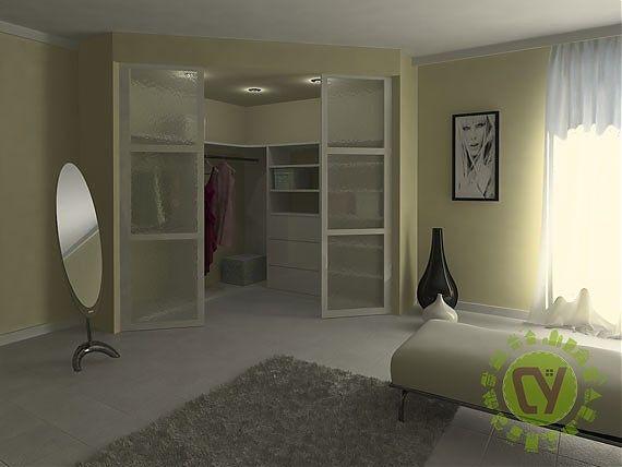 Гардеробные комнаты и шкафы на заказ; встроенные, распашные и угловые шкафы для гардеробной комнаты купить