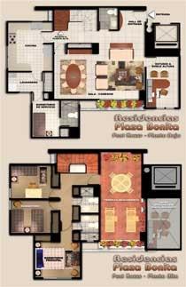 Residencias Plaza Bonita-Planos
