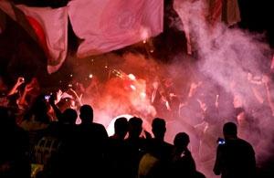 Invasão Corinthiana no aeroporto é destaque no site da FIFA