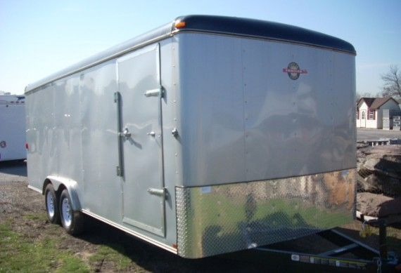 Carry-On 8 x 20 Enclosed Car Trailer – 7K | trailersuperstore.com