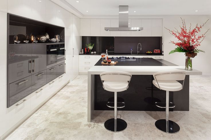 Sleek, contemporary kitchen designed and built by Urbane Projects, Perth.