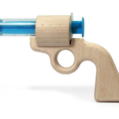 Aqua Joe - die erste Wasserpistole aus Holz