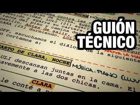 5. HACIENDO EL GUION TECNICO